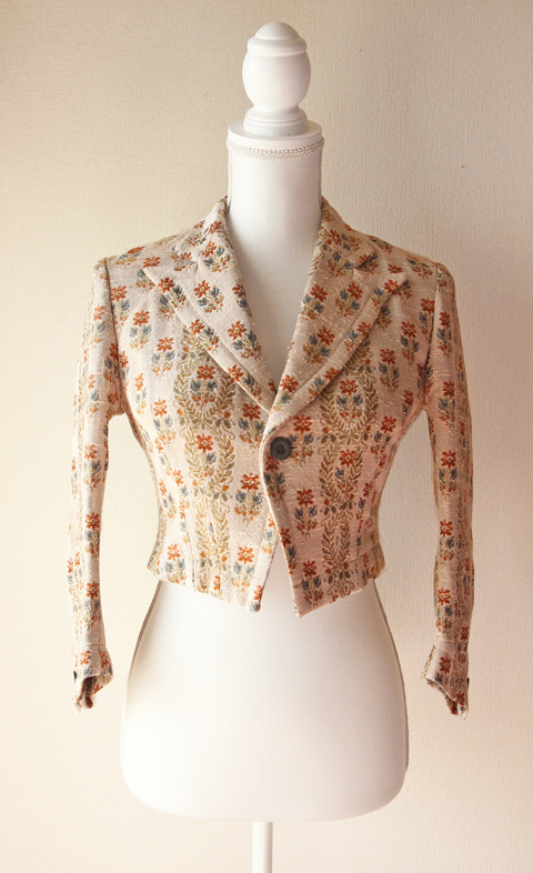 Robes & Confections short floral jacket
