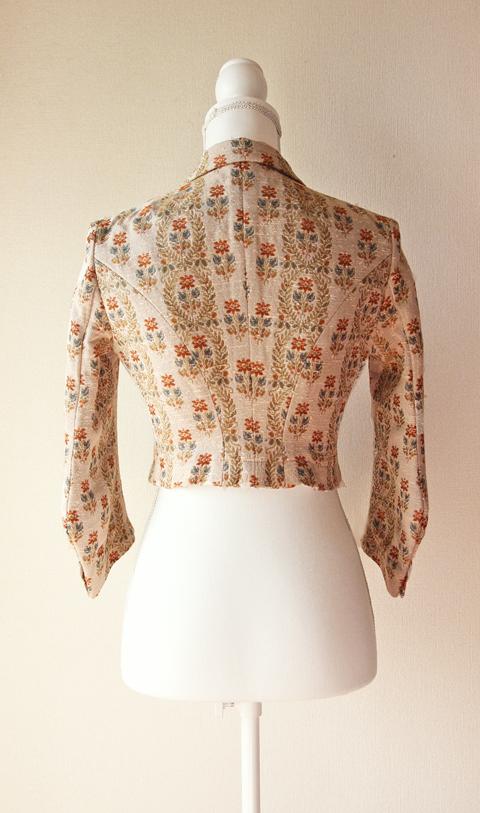 Robes & Confections short floral jacket