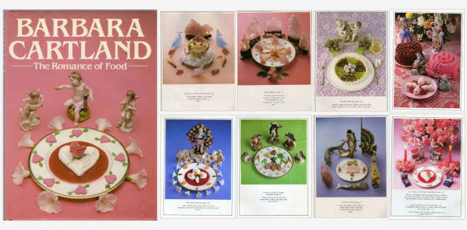 the romance of food Barbara Cartland