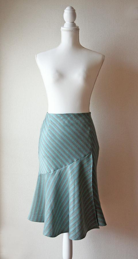Kumikyoku Sis aqua blue mermaid skirt